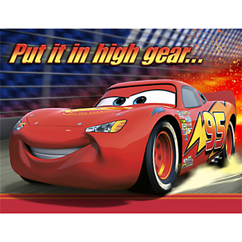 Lightning McQueen Birthday Invitations For A Party Filled With Thrilling Excitement